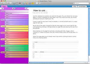 onenote task management template growly notes a free alternative to onenote for mac users