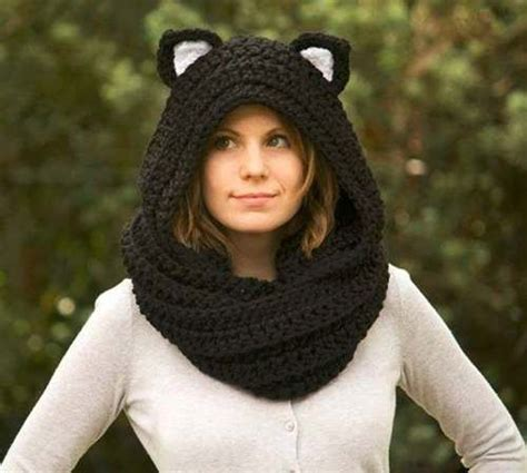 tejidos mujer gorros otoo invierno 2016 youtube las 25 mejores ideas sobre bufanda con capucha en