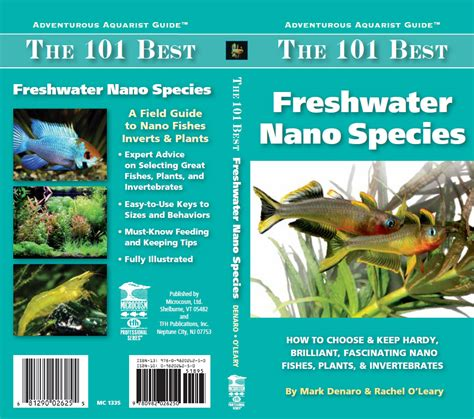 Olearys Nano by New Book The 101 Best Freshwater Nano Species