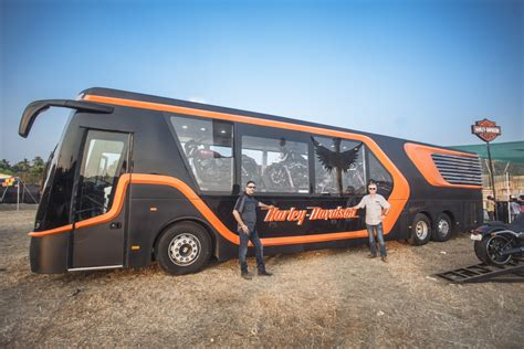 mobile india harley davidson india unveils mobile dealership at india