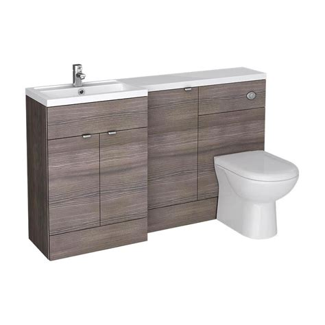 Bathroom Combination Furniture Bathroom Combination Furniture Grey Slimline 60cm Combination Unit 2 Door Designer Bathroom