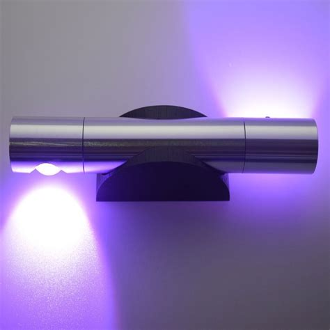 led home decor decorative accents purple home decor led wall light gamiss