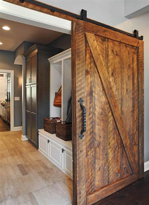 barn doors in house westerville house remodel by dave fox design build remodelers columbus home