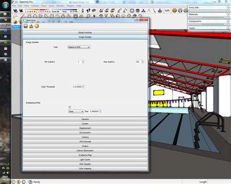 tutorial vray en sketchup como mejorar los renders en sketchup y vray