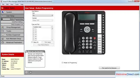 Best And Various Templates Avaya Phone Template