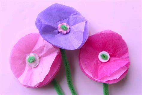 Floral Craft Paper - flower easy s projects and flower paper craft flowers