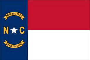 nc state colors carolina state flag flagnations