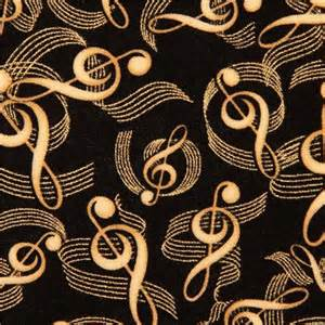 Ottoman Frames For Upholstery Black Music Note Fabric By Timeless Treasures With Glitter