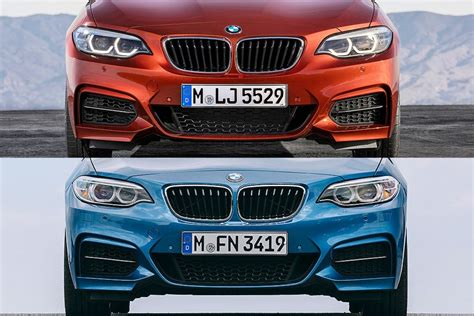 Bmw 2er Coupe Facelift by Bmw 2er Facelift 2017 Cabrio Und Coup 233 Bilder