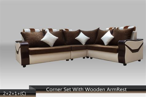Indian Wooden Sofa Set Designs Wooden Panel Corner Sofa Set Wooden Panel Corner Sofa