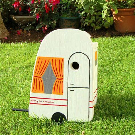 bird box personalised caravan bird box by lindleywood