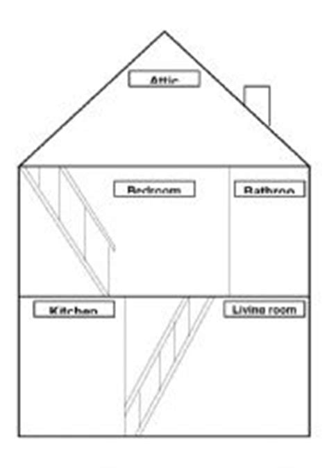 draw your home teaching worksheets the house