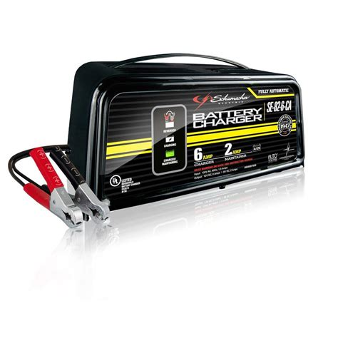 schumacher electric 6 volt 12 volt battery charger