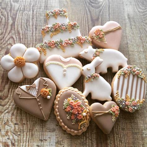 Wedding Cookies by Garden Wedding Cookies Cookie Connection