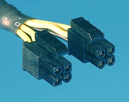 Kabel Power Molex Ke 2x Sata atx 12v 2x2 socket to 2x4 psu connector solved