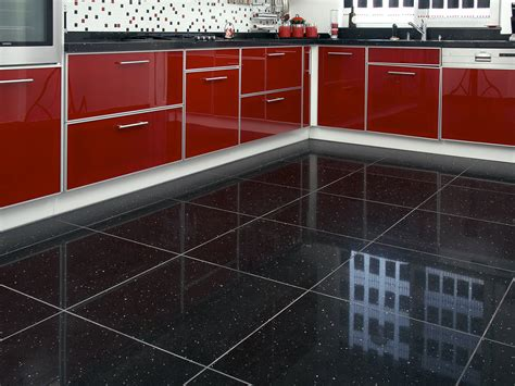 black kitchen tiles ideas bathroom mirror chrome kitchens with black tile black