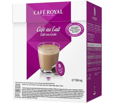Nescafe Dolce Gusto Cafe Au Lait 16 Capsule Coffee Kapsul Kopi caf 233 royal 16 capsules dolce gusto 174 compatibles caf 233 au lait