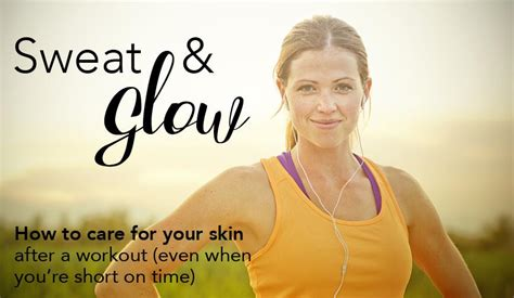 tattoo care exercise sweat sweat glow post workout skin care derma md canada