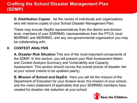 school crisis management plan template topic 4 school drrm and contingency planning new