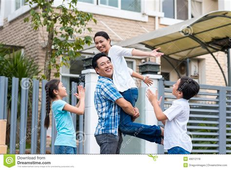 buying house from family celebrating family stock photo image 49012118