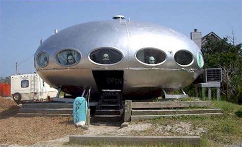 alien house futuro house home inside a ufo