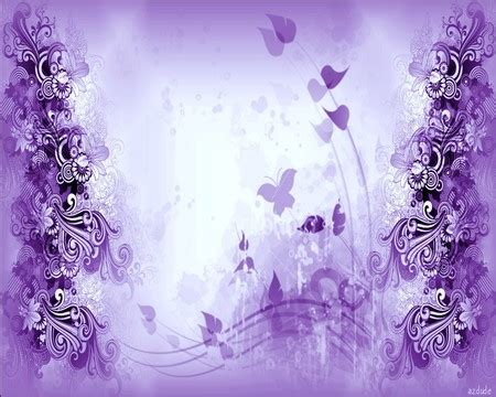 I Am Purple And I Am Beautiful by Beautiful Purple Daze 3d And Cg Abstract Background