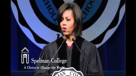 michelle obama education speech transcript michelle obama speech at spelman s 2011 commencement part