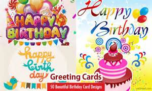 50 beautiful happy birthday greetings card design exles part 2