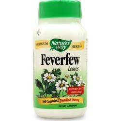 And Foot Bath 250 Pro 2000 nature s way feverfew leaf on sale at allstarhealth