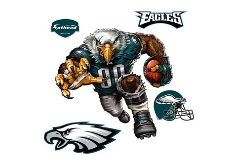 Wall Sticker Outlet extreme eagle wall decal shop fathead 174 for philadelphia
