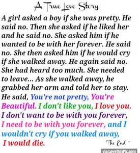 True love story quote pictures photos and images for facebook