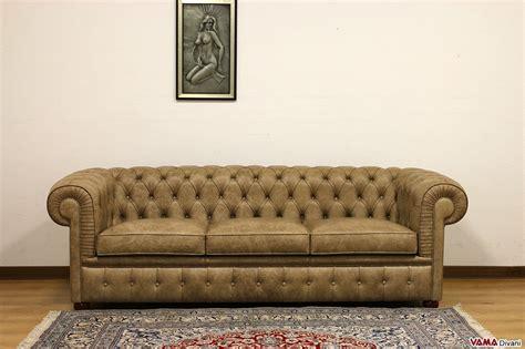 chesterfield divani divano chesterfield 3 posti vama divani
