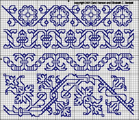 blackwork pattern 16th century blackwork blackwork pinterest