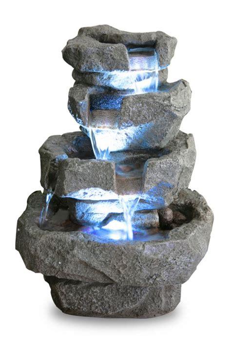 zimmerbrunnen mit beleuchtung zimmerbrunnen quot shubunkin spills quot mit led beleuchtung 36cm