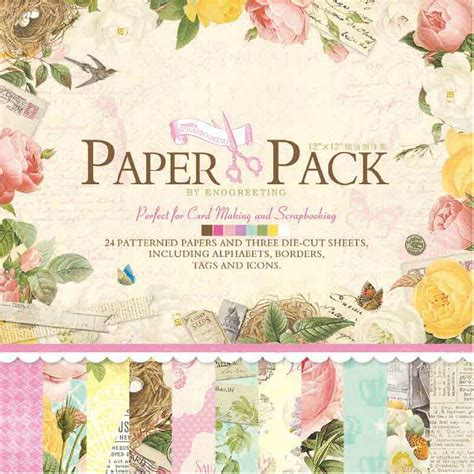 How To Make Scrapbook Paper - scrapbook paper pack 12 quot x12 quot page kits diy origami paper