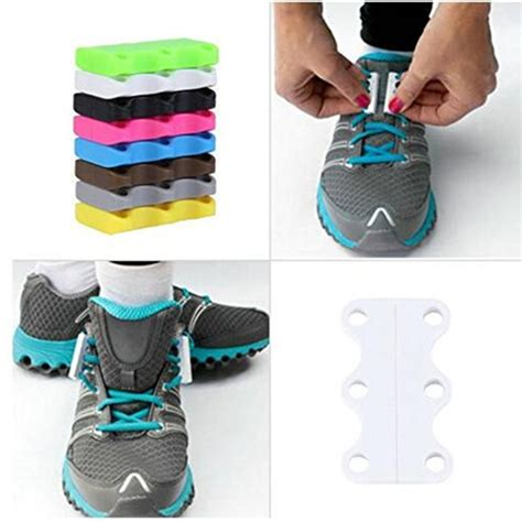 Magnetic Shoelaces sneakers magnetic shoe buckles 1 pair casual magnetic shoe