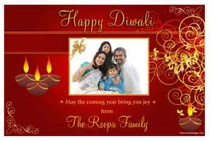 10 personalised diwali devali celebration new year photo cards n3
