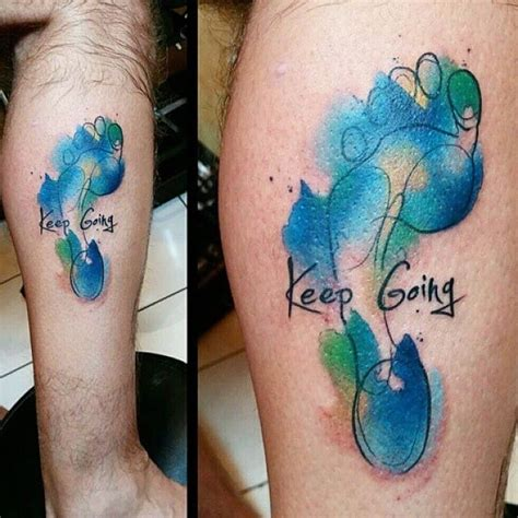 running tattoo designs gallery 16 fitness tattoos for your motivation tattoodo