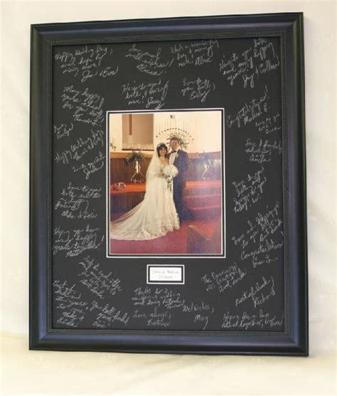 Picture Frame Signature Mat by The Gallery At Brookwood 20x24 Signature Mat Black