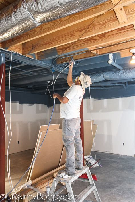 Tales of Painted Basement Ceilings and Pole Dancing Woes