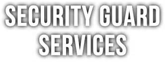 security guard company best on site security guard