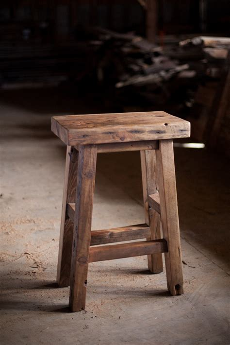 Reclaimed Wood Bar Stool Reclaimed Wood Bar Stools Reclaimed Wood Farm Table Woodworking Athens Atlanta Ga