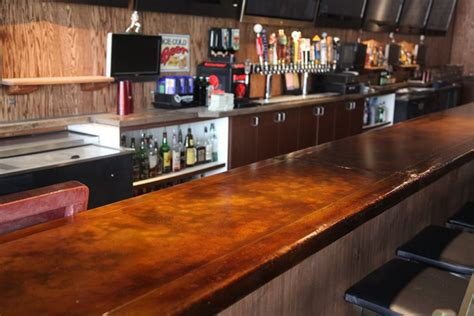 bar top materials photo gallery concrete countertops san diego ca the