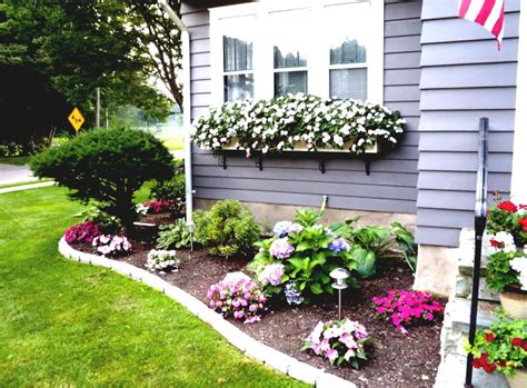 Garden Ideas For Front Of House Flower Bed Ideas For Front Of House Back Front Yard Landscaping Goodhomez