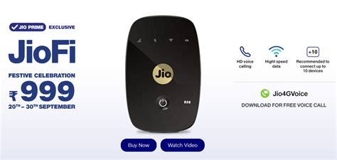 Wifi Portable M2s jiofi m2s 4g hotspot data card at rs 999 now on jio flipkart jio offers on 20 30th sep