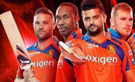 gl ang kkr team image ipl kkr vs gl gujarat lions thump kolkata by 5 wickets