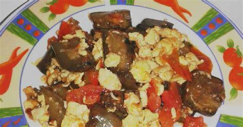 Ayra Merah Cabe 4 resep terong saus telur khas manado enak dan sederhana