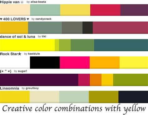 interesting color combinations 17 best creative colour combinations images on pinterest