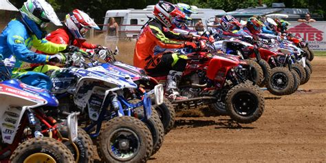 ama atv motocross schedule 2017 atvmx series schedule announcement atv motocross