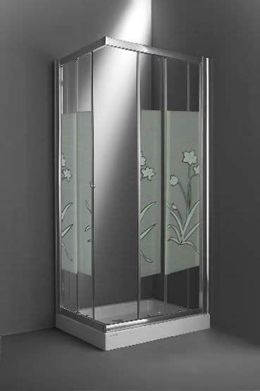 box doccia con piatto box doccia angolare con piatto doccia e vetro serigrafato